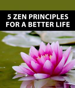 5 zen principles