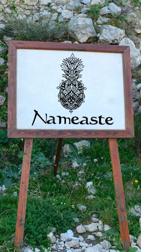Nameaste.com Sign board